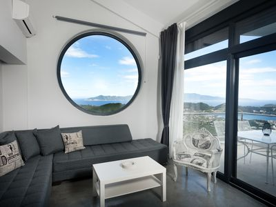 "Photo for Design 2-level Sea View Suite ""EVRIDIKI"""
