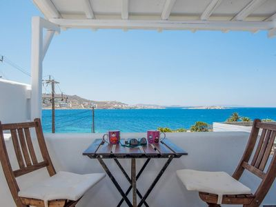 Photo for Beautiful Apartment with Amazing View In Mykonos Old town