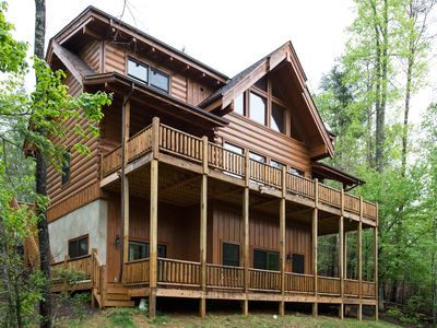Photo for BOOK NOW! WINDING RIVER HOUSE - Carolina Properties Vacation Rentals