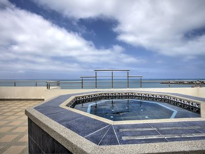 Photo for Stunning sea views and spacious contemporary apartment