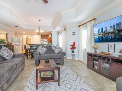 Photo for Absolutely beautiful 3 bed/3 bath condo in the wonderful Reunion Resort