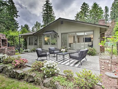 Photo for NEW! Luxe Minimalist Abode w/ Yard by Cottage Lake