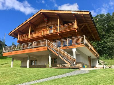 Photo for Luxury Chalet 16 persons Chamonix, Mont Blanc stunning views
