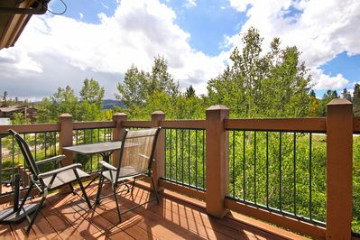 Highland Greens Lodge 305 - a SkyRun Breckenridge Property - Enjoy fresh Rocky Mountain air on your private deck