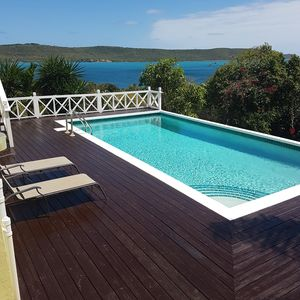 Photo for Spectacular Villa, Overlooking Willoughby Bay