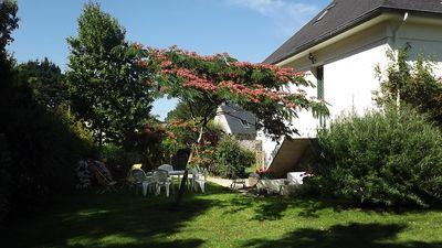 Photo for Three rooms in the countryside, 3km seaside, garden with trees