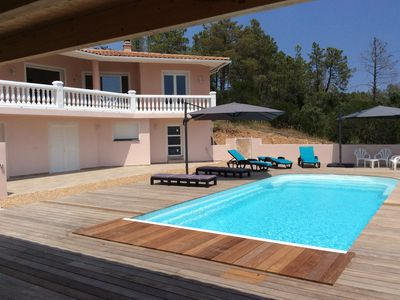 Photo for Very nice villa with heated pool (private pool in August and September)