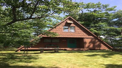 Photo for 3BR Cabin Vacation Rental in Sarona, Wisconsin