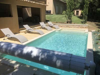 Photo for Almond House With Outdoor Pool And Interior In Quiet Area