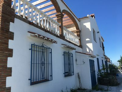 Photo for Stunning Casa with views over 5 pueblos, mountains and mediterranean sea