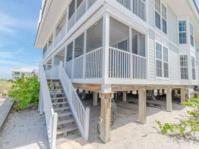 Photo for Excellent location to the Beach with a Spectacular view of the Gulf B1713B