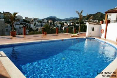 Communal Pool, open from Easter till the first week in November