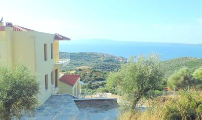 Photo for Rent apartment B Esten Greece Halkidiki Pyrgadikia exceptional sea view