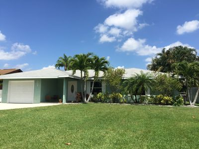 Photo for Relax And Unwind In Beautiful Jensen Beach. 3 Bedroom Pool Home