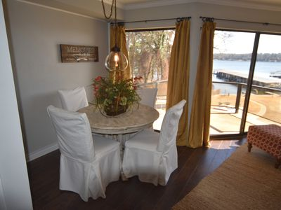 Photo for Beautiful Lakefront Condo at Willow Beach with laundry room, boat/jet ski dock