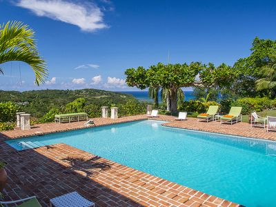 Photo for Stunning Views, Breezy Location, Cook, Private Driver + Van*, Round Hill Beach Club, AC, Free Wifi