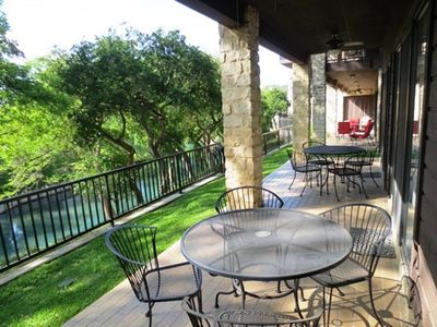 Photo for Waterfront Condo on the Comal River!