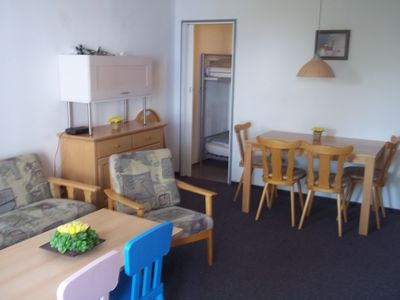 Photo for 4 persons apartment southern Bavaria with private pool / sauna, ski and sun