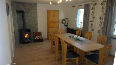 Photo for Large apartment for 10 people, with sauna, on the Kylltal bike path