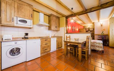 Photo for Rural apartment L'Abiseu for 2 people