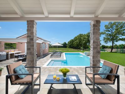 Photo for DesignerVilla Greenlife with 5 bedrooms and heated pool
