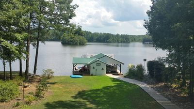 Photo for New Listing! Beautiful deep water view! Pets ok, linens/towels on request