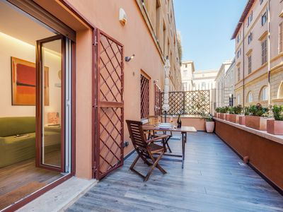 Photo for Rinascimento Terrace | Apartment near Piazza Navona