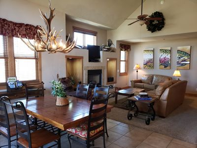 Photo for Luxury Condo on San Juan River - Pagosa Springs HOT SPRINGS across river $AVE $