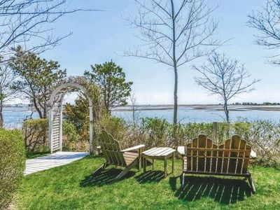 Photo for Private Beach on Bass River!!