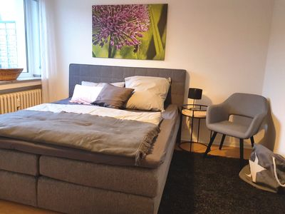 Photo for New, stylish, quiet apartment - quickly at the airport & fair