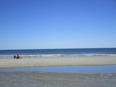 Photo for Available August 1-8! Beautiful Ocean, Marsh, Lagoon View-Walk to Beach