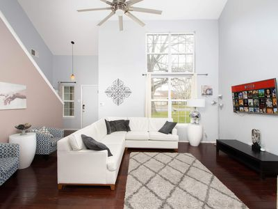 Photo for Casa Zephyr - Great for large groups and backs to local park.  Location!
