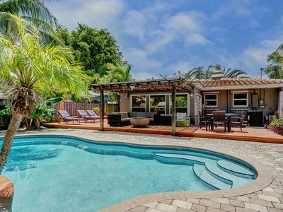 Photo for Heated Pool Home in the Center of Fort Lauderdale! Close to Everything!