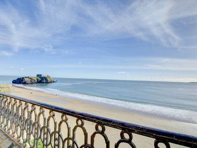 Photo for Scarborough House has been refurbished to provide light and airy accommodation overlooking the beach