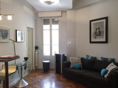 Photo for Cozy 2 p 40 sqm full center Nice in beautiful bourgeois building