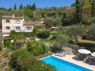 Photo for Gorgeous Country House w/pool near Valbonne Village. Ideal for family gatherings