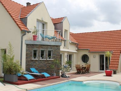 Photo for Beautiful contemporary house 10 minutes from Strasbourg