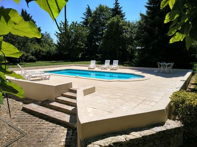 Photo for 4 Bed Luxury Farmhouse with Summer House And Private Pool In Beautiful Gardens