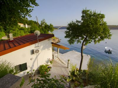 Photo for Quiet holidays directly on the sea for 2 persons