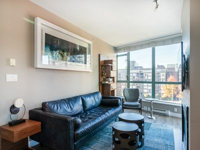 Photo for Amazing location, high-end furnishings, gem in the heart of downtown.