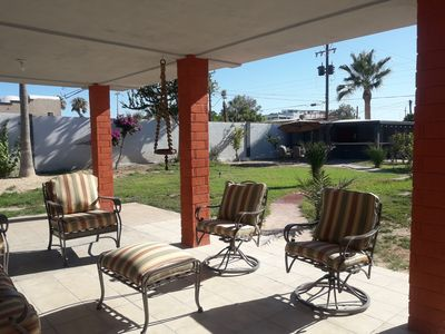 Photo for 3 bed 3 bath house with a big patio.  Rocky point