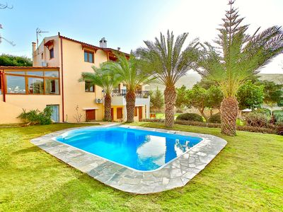 Photo for Villa Karteros with private swimming pool - Five Bedroom Villa, Sleeps 11