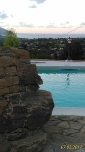Photo for Villa D'Angelo Mediterranean atmosphere with swimming pool overlooking the sea