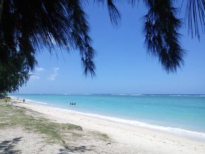 Photo for Fully furnished beach studio in the heart of Flic en Flac, aircon and free WiFi