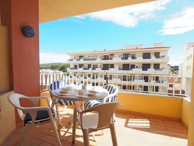 Photo for Apartment in the center of Riells, only at 50m. from the beach. Two bedrooms (one doble be