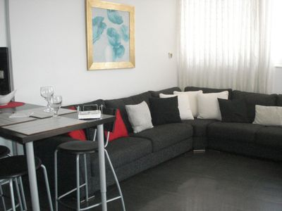 Photo for Fabulous two bedroom penthouse close to the beach sleeps 5 with free WIFI