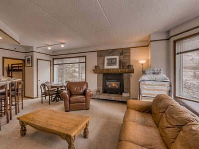 Photo for Copper Center Village. Newly renovated. Gas Fireplace. FREE Underground Parking.