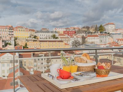 Photo for Charming Apartment Lisbon Downtown - 15min to Chiado Downtown and Riverfront