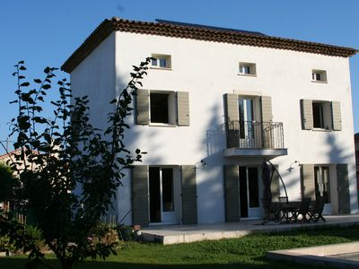 Photo for Bastide 10 minutes from the center of Aix, garden, swimming pool (9.5mx4.5m) and private parking