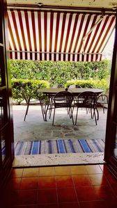 Photo for OVERSIZE Summer House at GROUND FLOOR in small family Residence in SIRMIONE